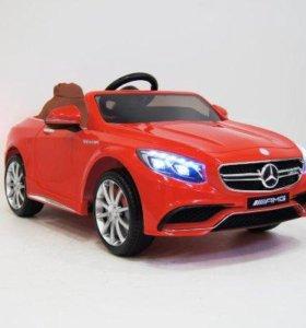 Электромобиль Мерседес S63 детский
