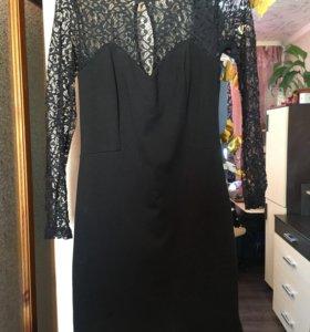 Платье с утягивающей юбкой