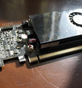 Отличная Игровая видеокарта Nvidia GT 620 2gb