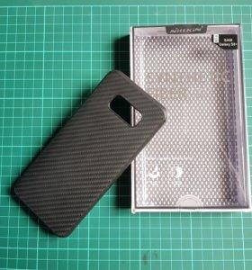Чехол на Samsung Galaxy S8+ Nillkin карбоновый