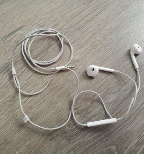 Наушни Apple Оригинал из комплекта iPhone  6s