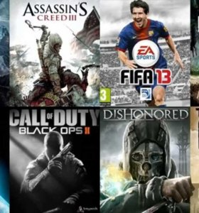 Любые игры на Sony Play Station 3