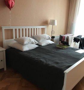 Кровать с матрасом , Икеа
