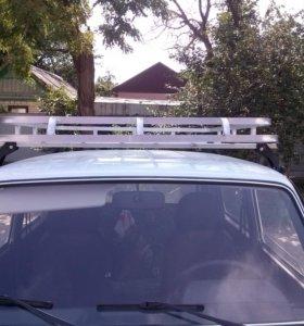 Продаю Алюминиевый багажник(корзина) на ниву
