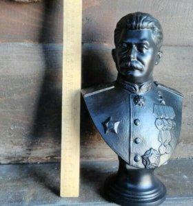 Сталин Касли чугун 1946 скульптор Аникин огромный