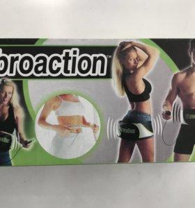 Вибромассажный пояс для похудения Vibroaction