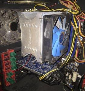 Мощный игровой пк AMD FX 8320 8 ядер GTX 750ti 2GB