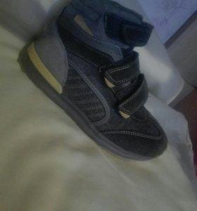 Детские ботинки-кроссовки