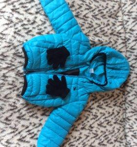 Куртка для мальчика весна/осень тёплая.