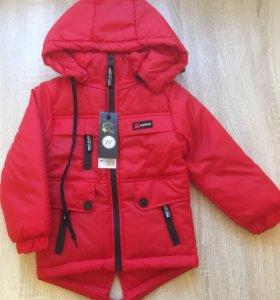 Детская куртка - размер 80-86