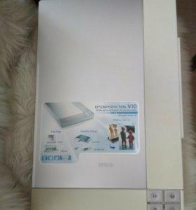 Сканер Epson Perfection V10