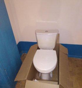 Продам туалет б/у