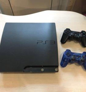 Sony Playstation 3 slim 320gb 35игр лицензионных