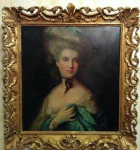 Гейнсборо, портрет герцогини де Бофор, копия