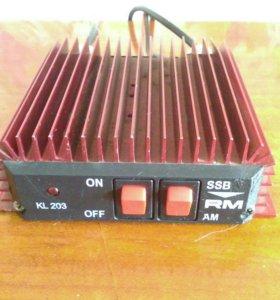 Усилитель мощности радиостанции