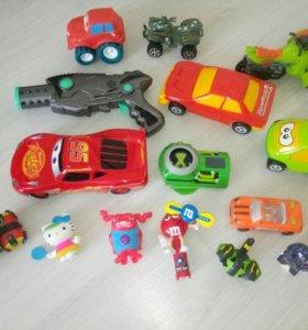 Машинки, рейнджеры, фигурки