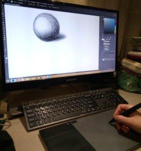 Беспроводной графический планшет Huion G10T Wi-Fi