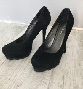 Туфли замшевые Calipso