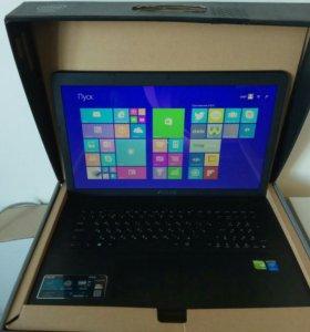 """Ноутбук ASUS X751LD i3 4010U/17.3""""/4Gb/1Tb/GF820/W"""