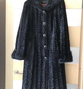 Пальто-шуба из каракуля
