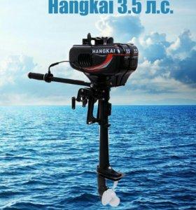 Лодочный мотор hangkai ( ханкай ) 3.5 л.с.