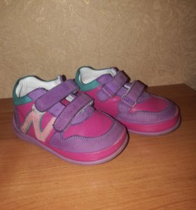 Ботиночки для девочки на весну размер 21