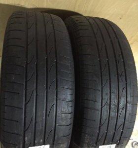 Шины б/у 215/55R16 Bridgestone (art-284) 2шт