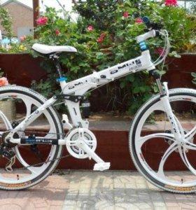 BMW Велосипед - внедорожник складной в Москве