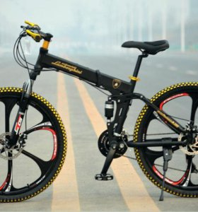 LAMBORGHINI Велосипед - внедорожник. Складной
