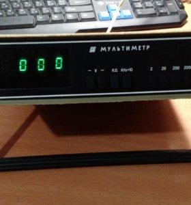 Раритет Советский цифровой мультиметр ВР-11