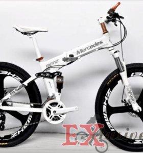 AUDI R8 Велосипед - внедорожник. Складной