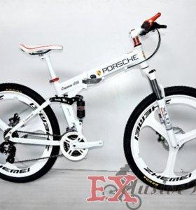 PORSCHE Велосипед - внедорожник. Складной