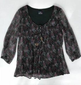 Блуза Jean's West, шелк вискоза, размер S
