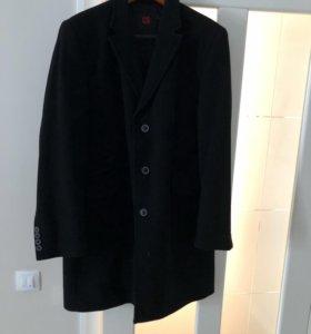 Классическое пальто шерстяное для мужчины
