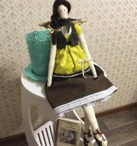 Интерьерная кукла - ручной работы