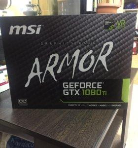 Видеокарта MSI GeForce 1080ti 11gb