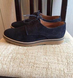 Замшевые ботинки Trussardi