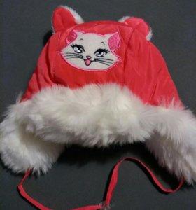 Зимняя шапочка для девочки
