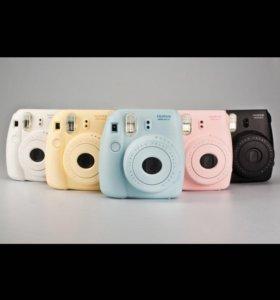 Новый фотоаппарат мгновенной печати