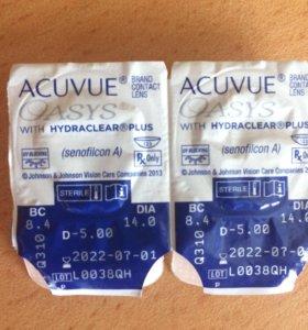 Линзы мягкие контактные ACUVUE OASYS
