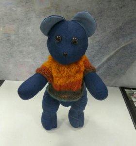 Медведь из джинсы