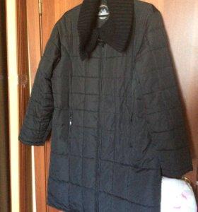 Длинная женская куртка