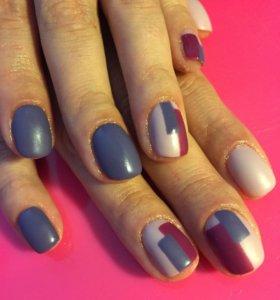 Покрытие ногтей гель- лаком