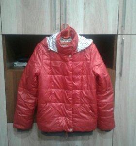 Куртка весенняя 10-11 лет