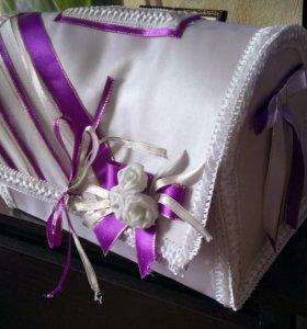 Свадебный чемодан для денег