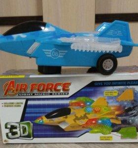 Новый 3D самолет