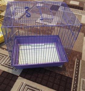 Клетка для попугаев и хомяков