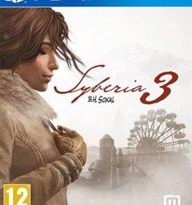 """PS4 """"Сибирь 3"""", новый"""