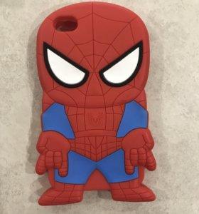 Чехол Человек-Паук на iPhone 4