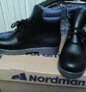 Резиновые мужские ботинки
